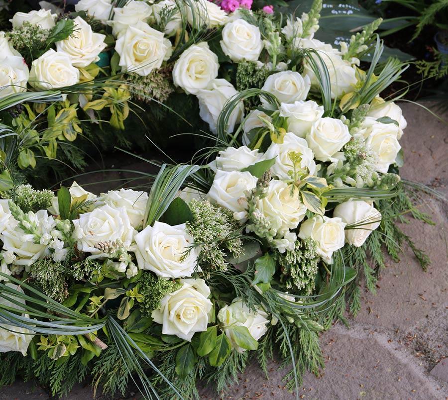 Confection de fleurs pour enterrement à Saint-Jean-de-Braye | Aurell fleurs
