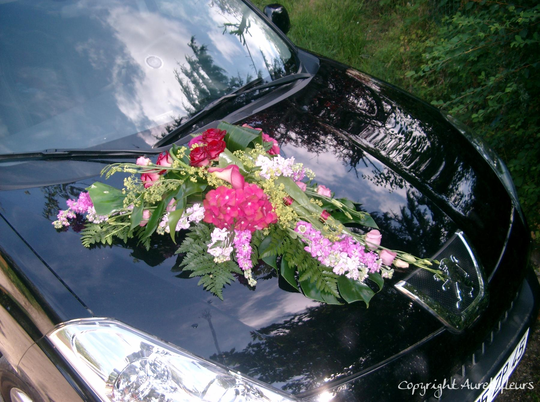 voiture capot avant 6 à Saint-Jean-de-Braye | Aurell fleurs