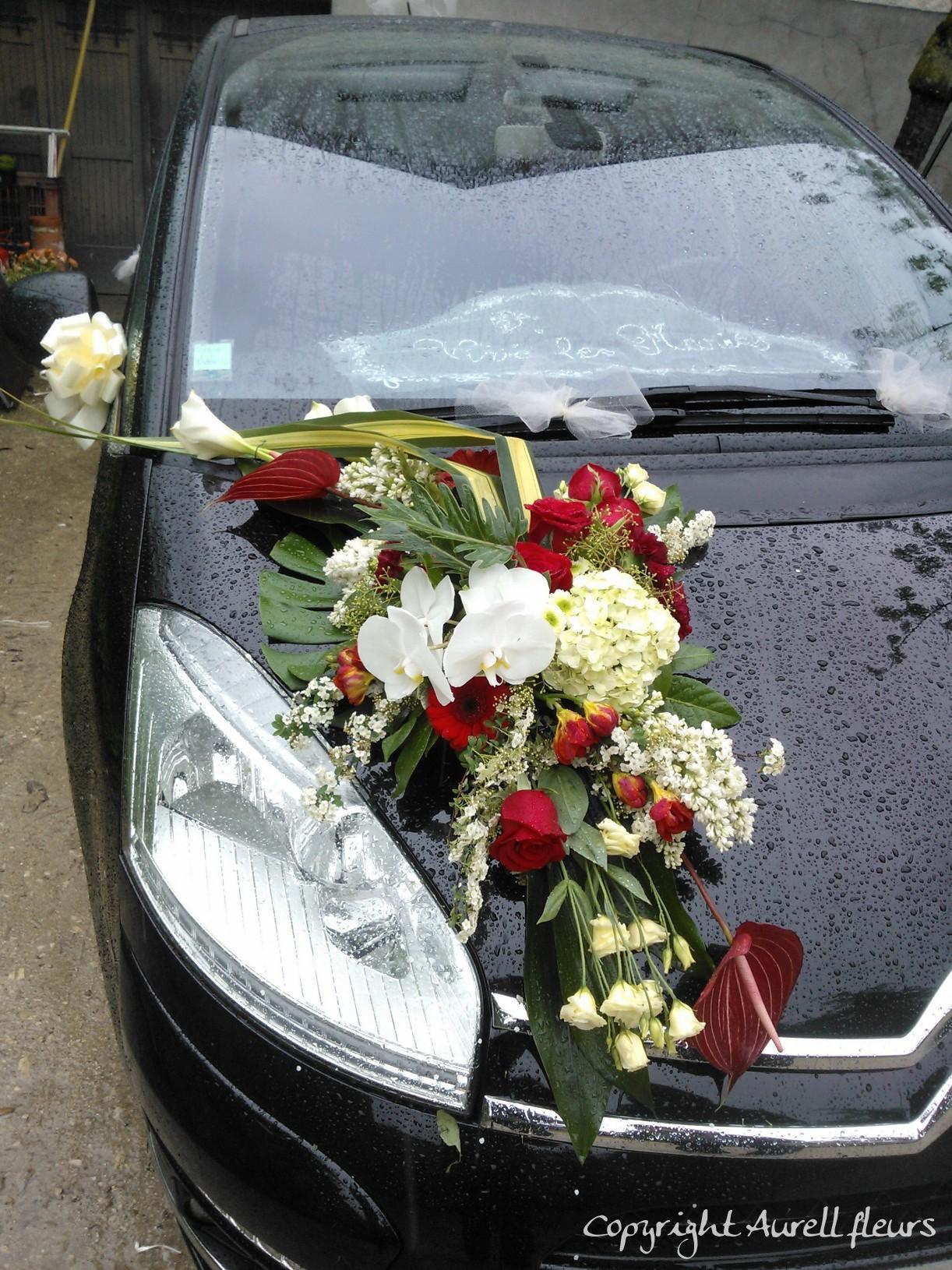 voiture capot avant 8 à Saint-Jean-de-Braye | Aurell fleurs