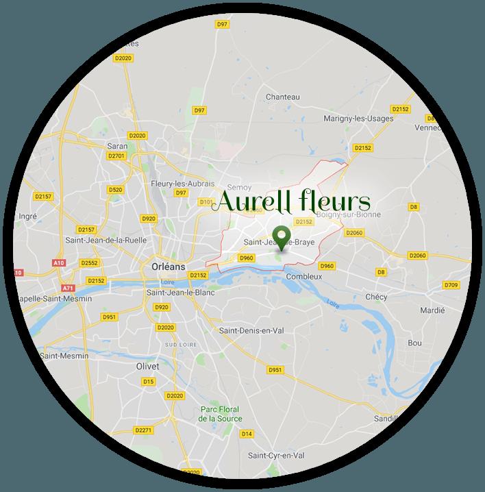 Livraison fleur à domicile à Saint-Jean-de-Braye | Aurell fleurs